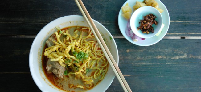 The signature dish of Chiang Mai