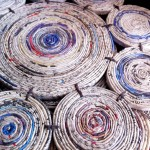 7. Recycled paper mats