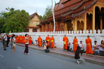 Morning alms Luang Prabang