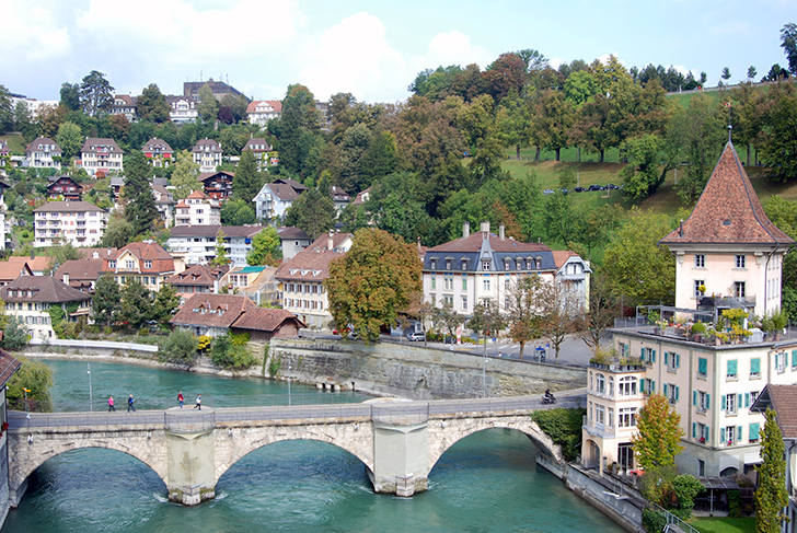 Bern bridge