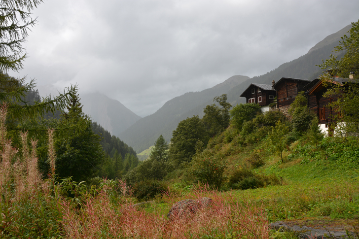 Hiking in Switzerland the Binn Valley