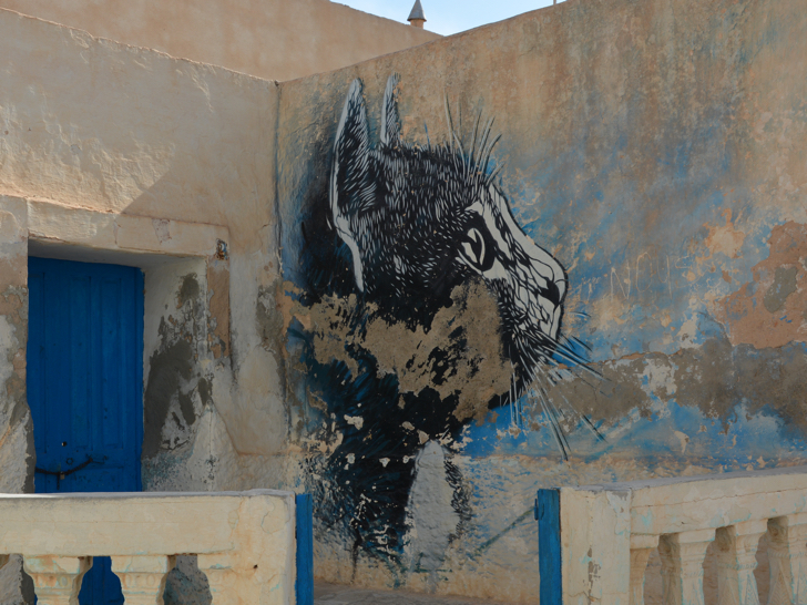 Tunisia street art