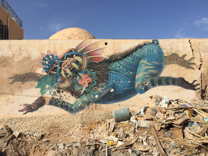 Tunisian street art