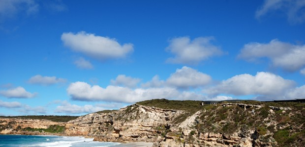 Southern Ocean Lodge on cliff top