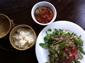 All about Lao food