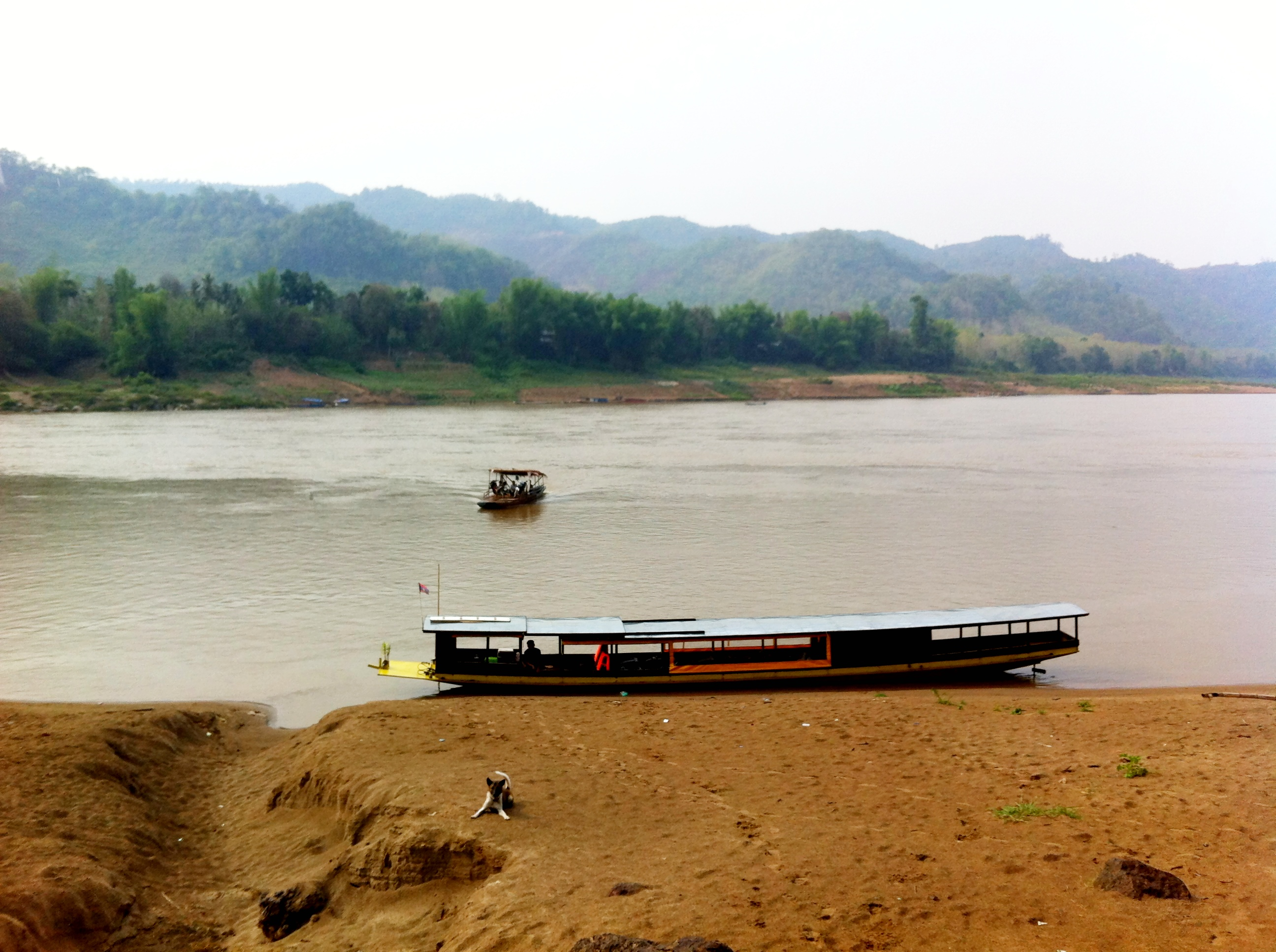 Combine Kuang Si with a boat trip on the Mekong with Banana Boat Laos.