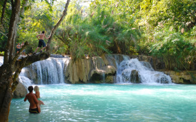 How to get to Kuang Si Waterfall, Luang Prabang