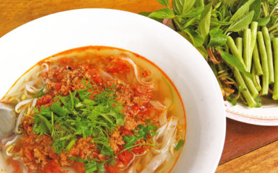 Noodles of northern Laos