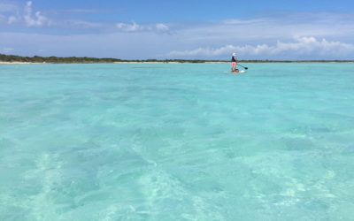 Paddling Mangrove Cay, Turks and Caicos Islands