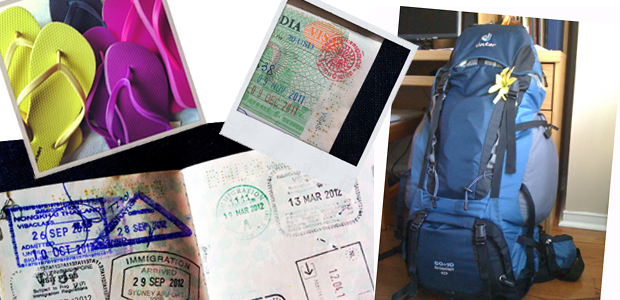 Diary October 23, 2011: Packing up for a nomadic life abroad
